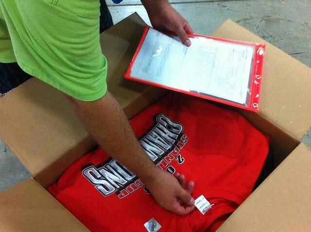 T-shirt Printing Quality Control - Marshall Atkinson