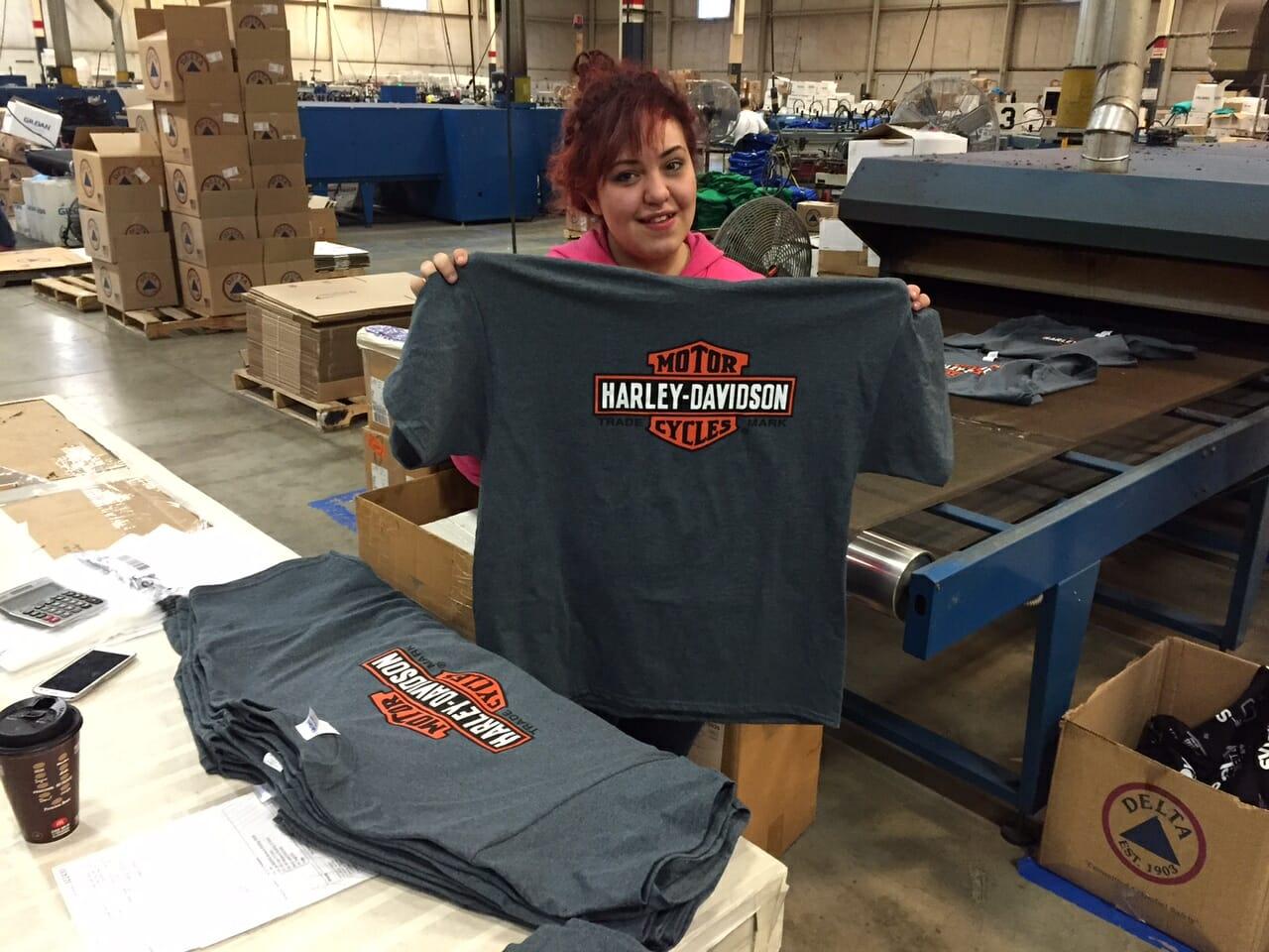 Gray Shirts Just Printed - Marshall Atkinson