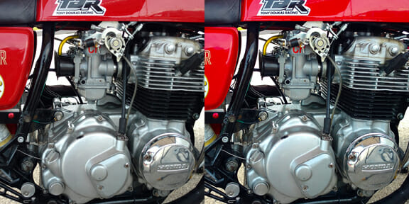 MOTORCYCLE ENGINE EXAMPLE SBS