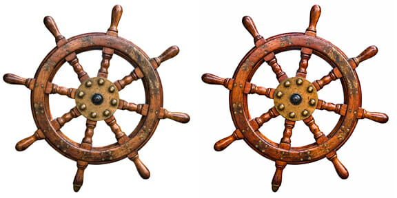 SHIP'S WHEEL EXAMPLE SBS