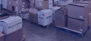 Boxes in Receiving