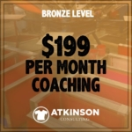 MARSHALL ATKINSON BRONZE LEVEL COACHING