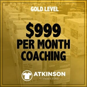 MARSHALL ATKINSON GOLD LEVEL COACHING