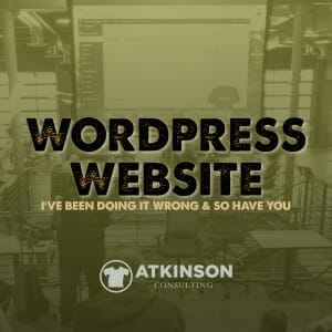 Wordpress Website - Marshall Atkinson