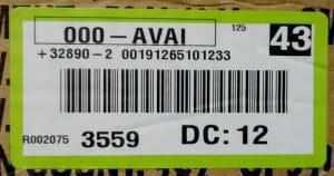 SanMar LPN License Plate Number Label - Marshall Atkinson