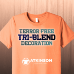 Terror Free Tri-Blend Decoration - Marshall Atkinson