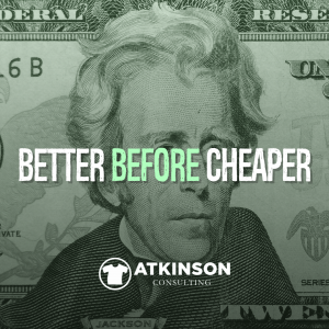 Better Before Cheaper