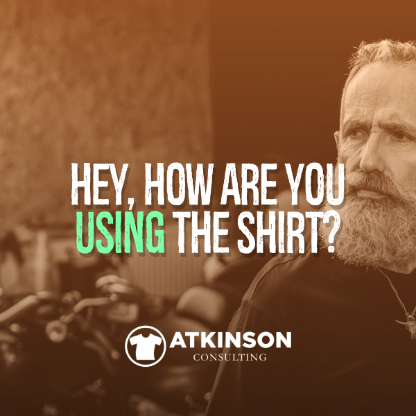 Hey, how are you using the shirt?