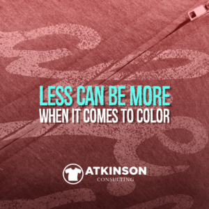 Less Can Be More When It comes to Color