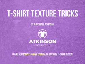 T-shirt Texture Tricks by Marshall Atkinson