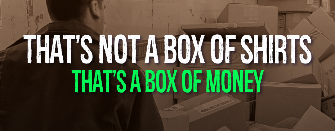 That's Not A Box of Shirts