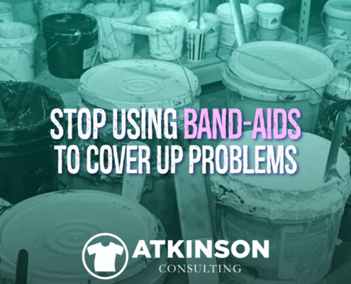 Stop Using Band-Aids To Cover Up Problems