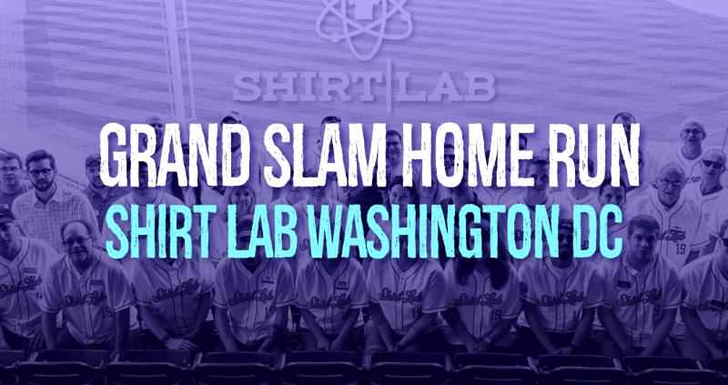 Shirt Lab Washington DC Home Run