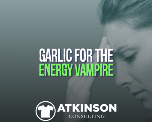 Garlic for the Energy Vampire