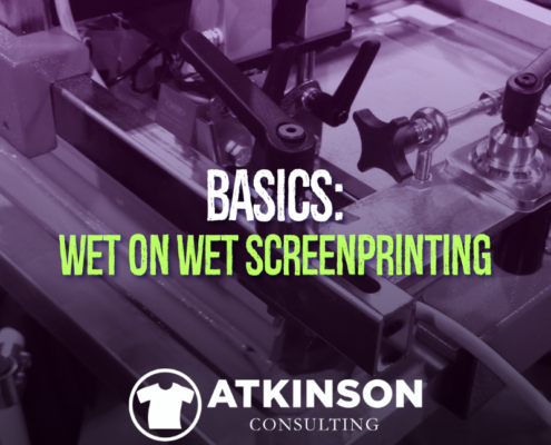 Basics: Wet on Wet Screen-printing