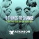 9 Things to Change