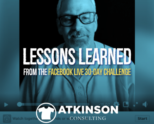 Lessons Learned from the Facebook Live 30-Day Challenge