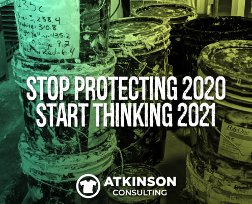 Stop protecting 2020 start thinking 2021
