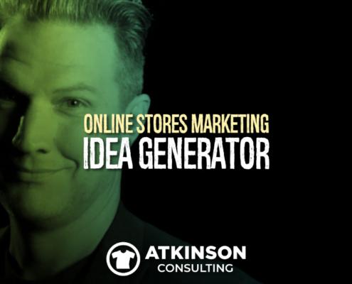 Online Stores Marketing Idea Generator
