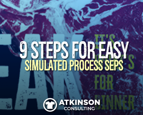 9 Steps for Easy Simulated Process Seps