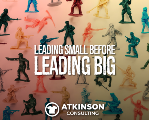Leading Small Before Leading Big